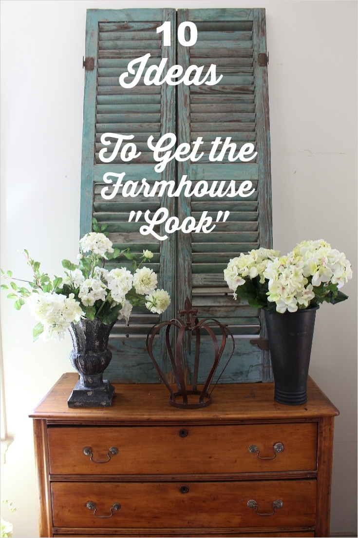 Farmhouse Chic Decorating Ideas 75 10 Inexpensive Ways to Decorate and the Farmhouse Look Vintage American Home 4