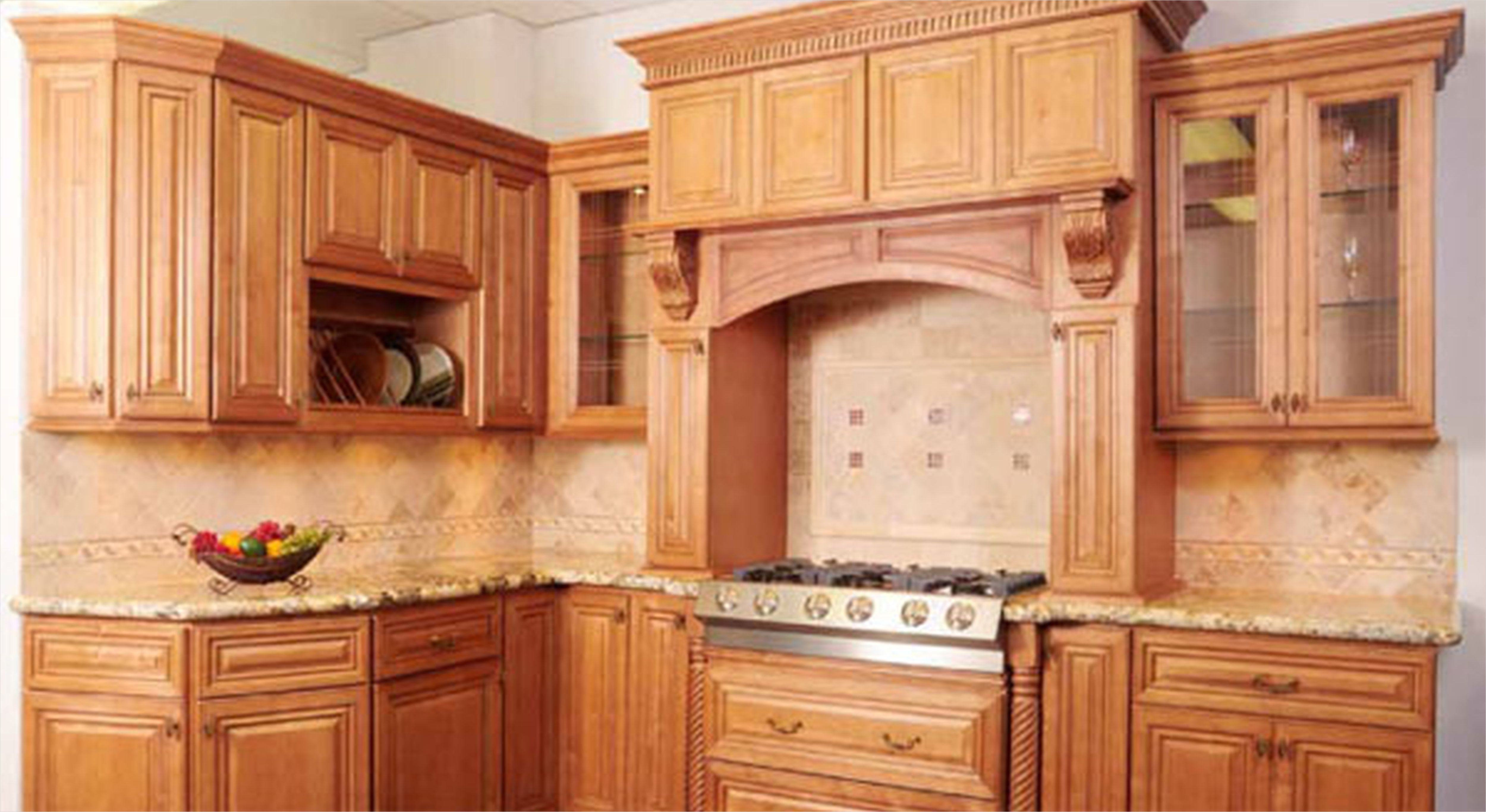 kitchen with maple cabinets color ideas 29 - Gongetech