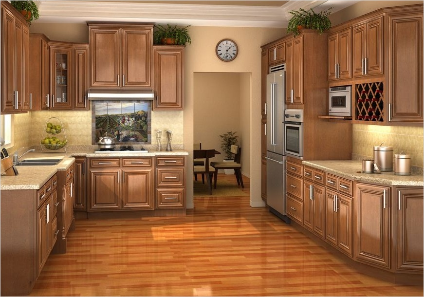 kitchen with maple cabinets color ideas 30 - Gongetech