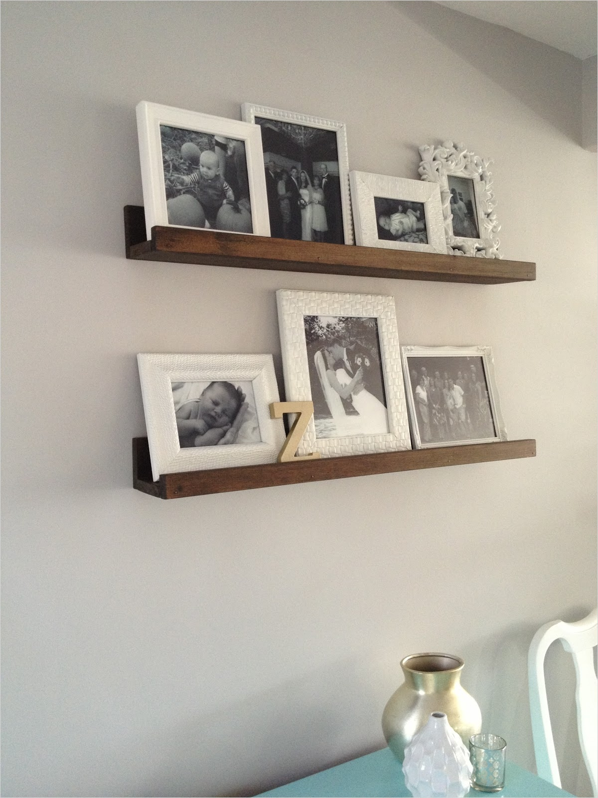 45 Creative Rustic Wall Mounted Bookshelves 24 Rustic Wall Mount Shelving Unit White Painted Wall for Frame Picture Storage with Metal Wall 7
