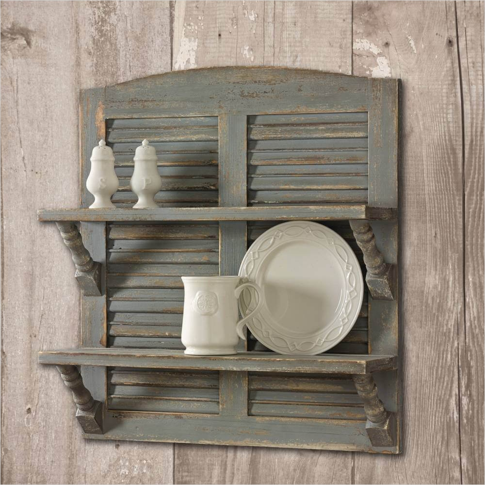 44 Gorgeous Farmhouse Wall Decor 81 34 Best Old Shutter Decoration Ideas and Designs for 2018 9