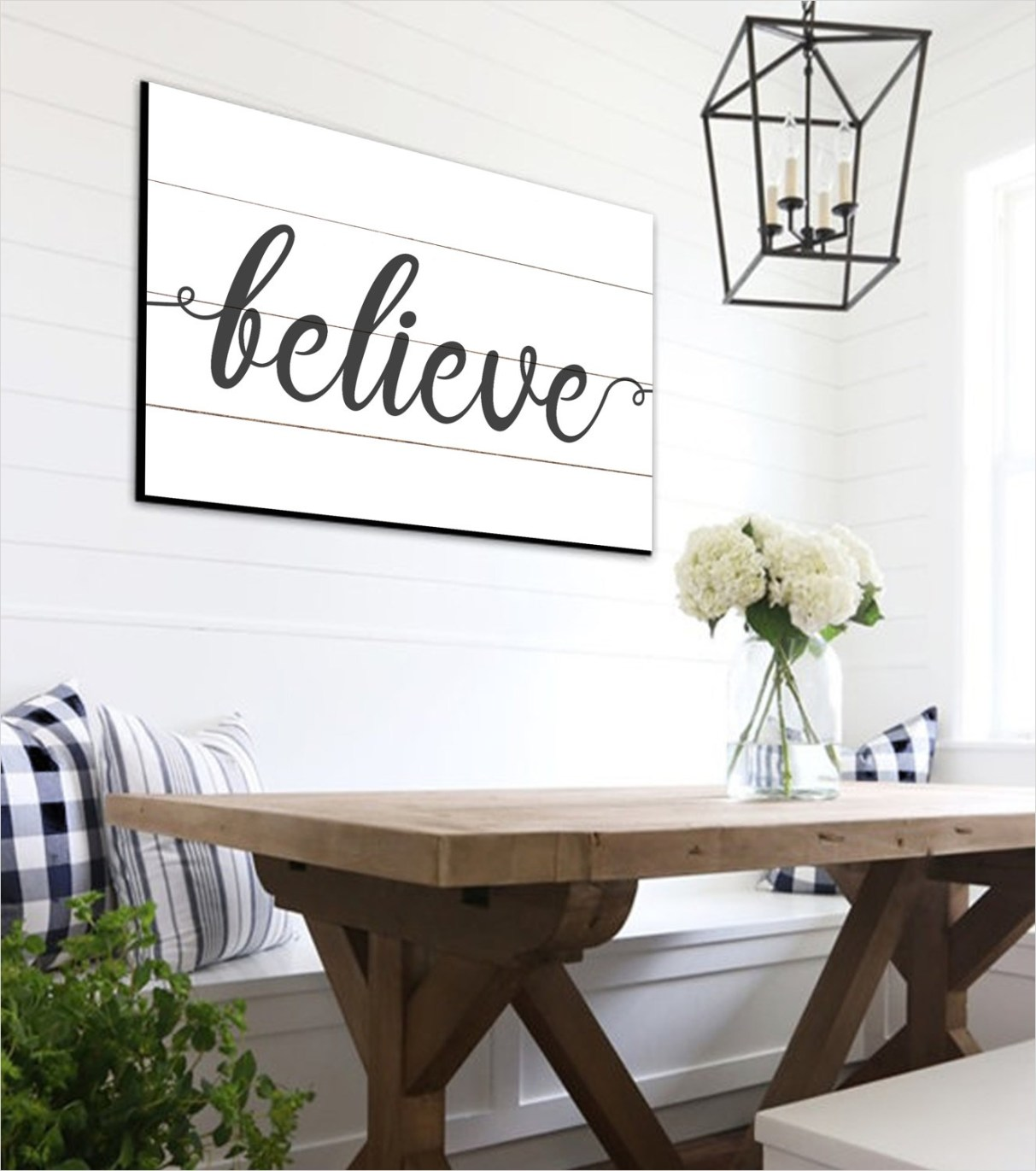 44 Gorgeous Farmhouse Wall Decor 24 Believe Shiplap Sign Farmhouse Wall Decor Rustic Home Decor 5