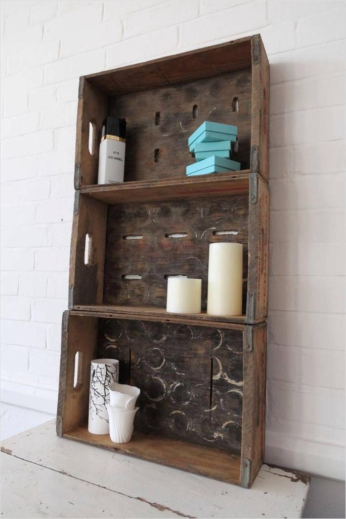 44 Creative Ideas Rustic Bathroom Walls Shelf 15 Vintage Bathroom Cabinet Cupboard Wall Rack Display Shelf Rustic Storage Unit 7