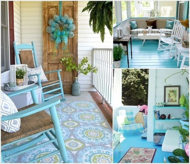 Summer Front Porch Decorating Ideas: Summer Porch Decorating Ideas 26