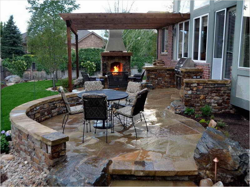 45 Perfect Backyard Bbq Landscaping Ideas 71 Outdoor Great Stone Style Outdoor Bbq Ideas How to Design Outdoor Bbq Ideas Bbq Grill Outdoor 2