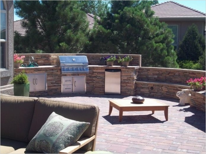 45 Perfect Backyard Bbq Landscaping Ideas 56 Outdoor Kitchen Colorado Springs Co Gallery Landscaping Network 6