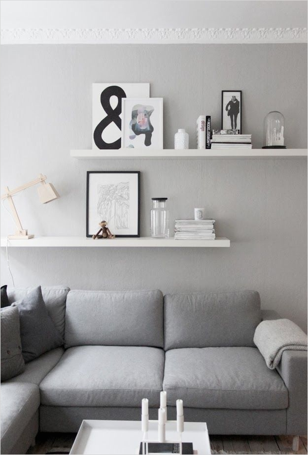 41 Perfect Shelf Decor Ideas Grey Bedrooms 87 Living Room Details Grey Walls From Createcph Living Room Pinterest 7
