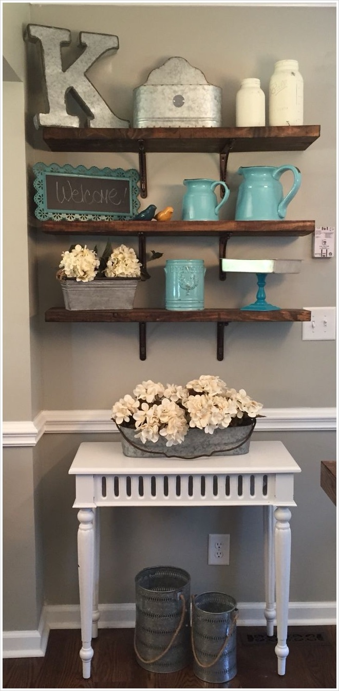 41 Perfect Shelf Decor Ideas Grey Bedrooms 55 100 [ Shelf Decor Ideas ] 3
