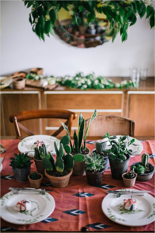 43 Beautiful Cactus Centerpiece Ideas 83 2269 Best Entertaining & Tabletop Images On Pinterest 5