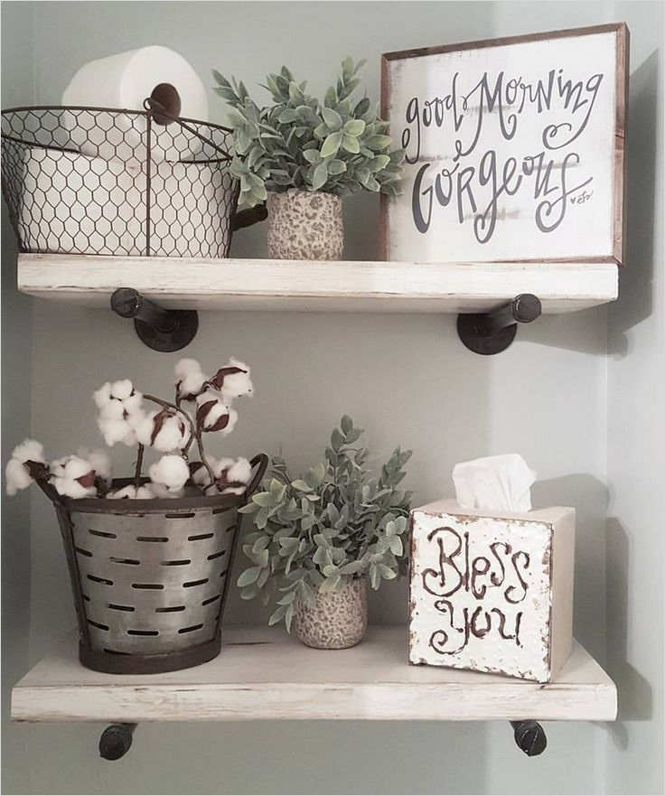 41 Beautiful Farmhouse Bathroom Accessories Ideas 17 25 Best Farmhouse Decor Ideas On Pinterest 8