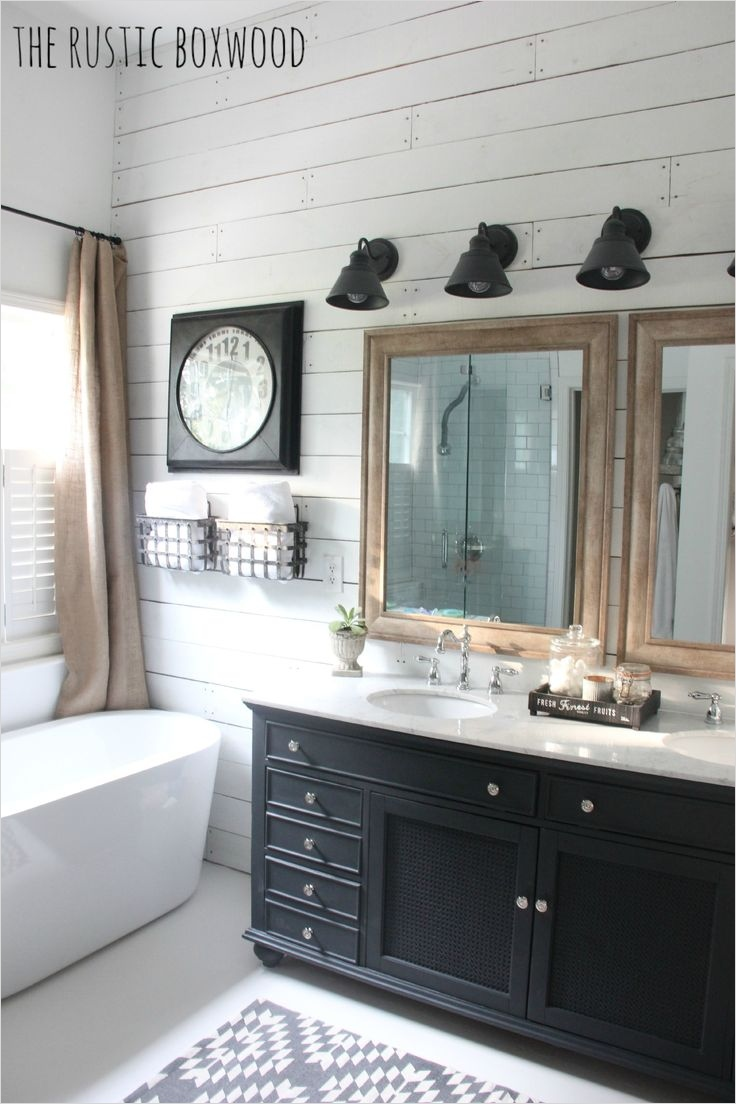 41 Beautiful Farmhouse Bathroom Accessories Ideas 28 Farmhouse Decor Ideas for the Bathroom 9