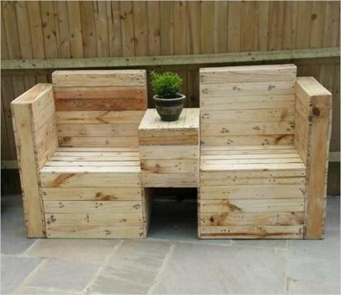 40 Diy Ideas Outdoor Furniture Made From Pallets 49 Pallets Made Outdoor Furniture 4