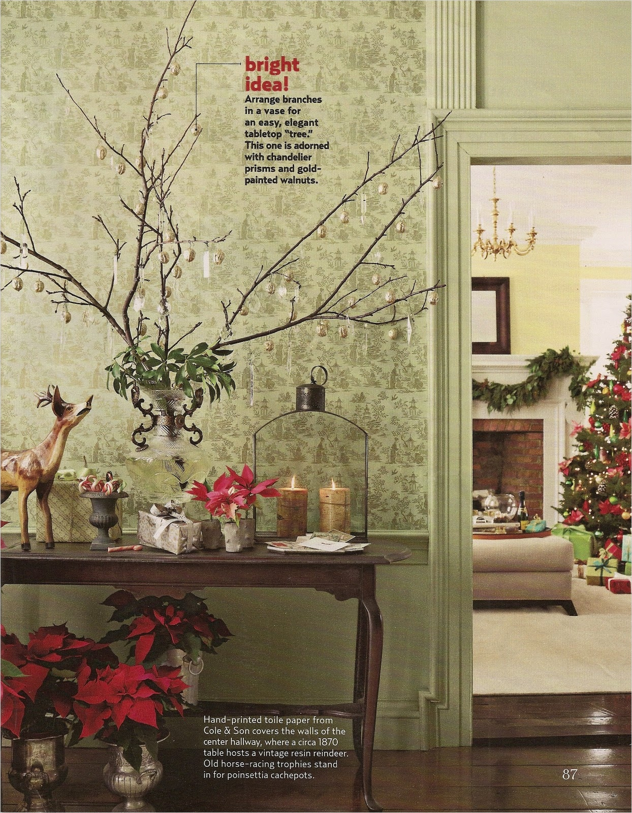 41 Amazing Country Christmas Decorating Ideas 69 Acanthus and Acorn Branch Out with Your Holiday Decorating 2