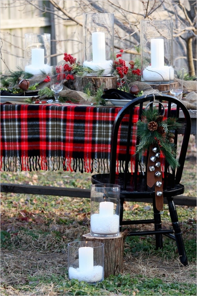 41 Amazing Country Christmas Decorating Ideas 48 35 Cozy Plaid Décor Ideas for Christmas 5