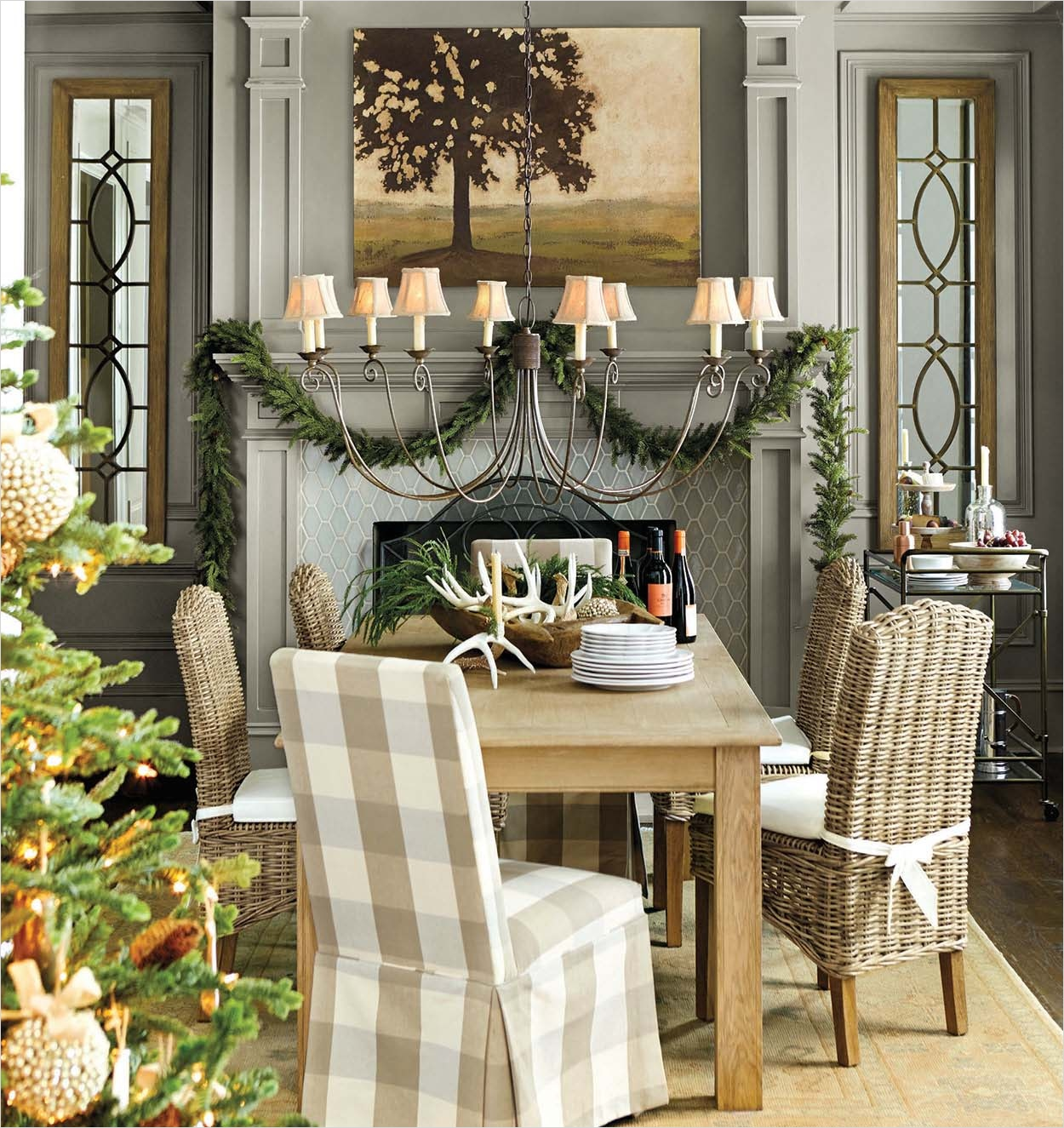 41 Amazing Country Christmas Decorating Ideas 31 40 Fabulous Rustic Country Christmas Decorating Ideas 3