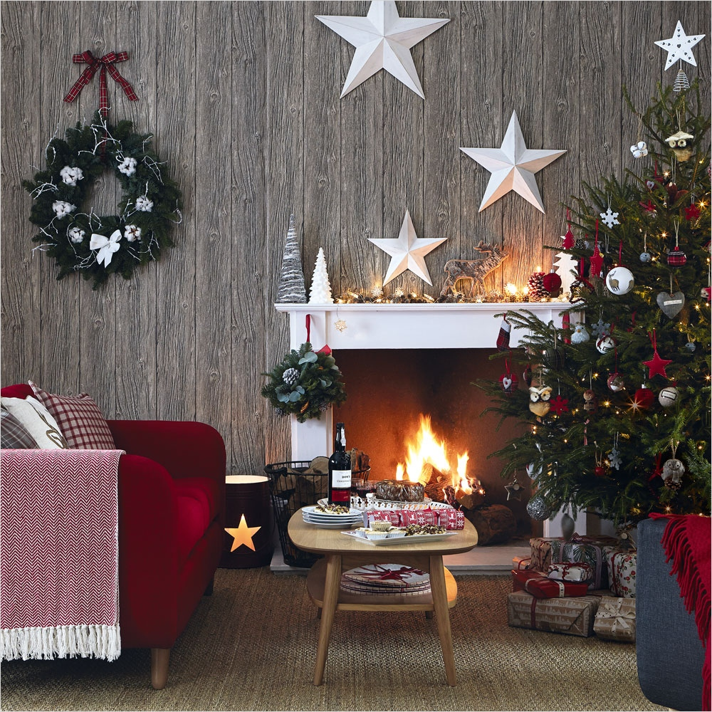 41 Amazing Country Christmas Decorating Ideas 36 Country Christmas Decorating Ideas 9