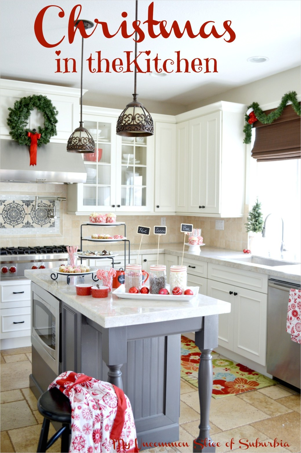 42 Awesome Kitchen Christmas Decorating Ideas 38 Christmas Decorating In the Kitchen 4
