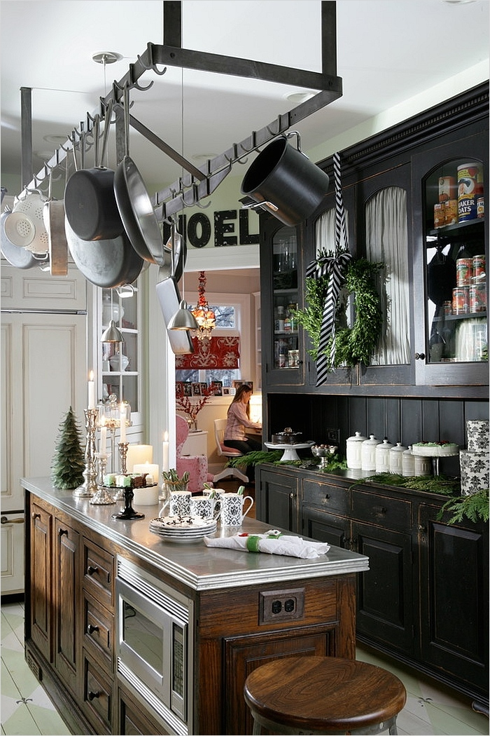 42 Awesome Kitchen Christmas Decorating Ideas 26 Christmas Decorating Ideas that Add Festive Charm to Your Kitchen 5