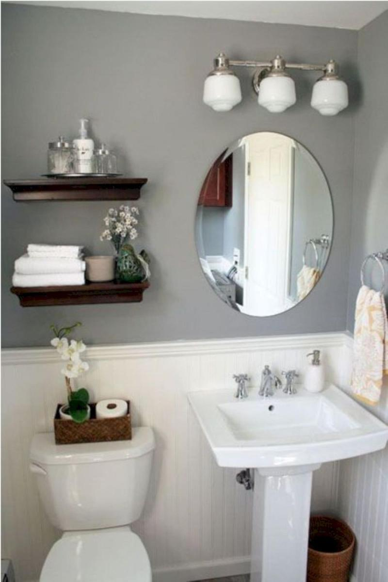 42 Perfect Small Bathroom Decorating Ideas 27