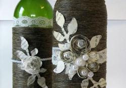 46 DIY Simple but Beautiful Wine Bottle Decor Ideas 34