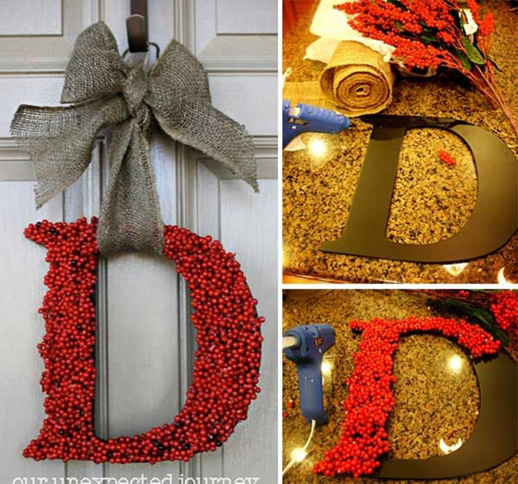 Best 40 DIY Christmas Wreath Ideas 18