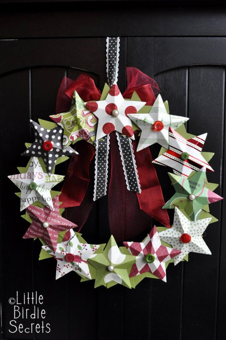 Best 40 DIY Christmas Wreath Ideas 48