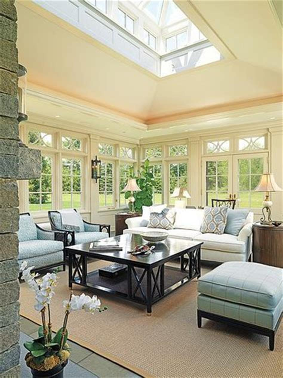 50 Most Popular Affordable Sunroom Design Ideas on a Budget 10