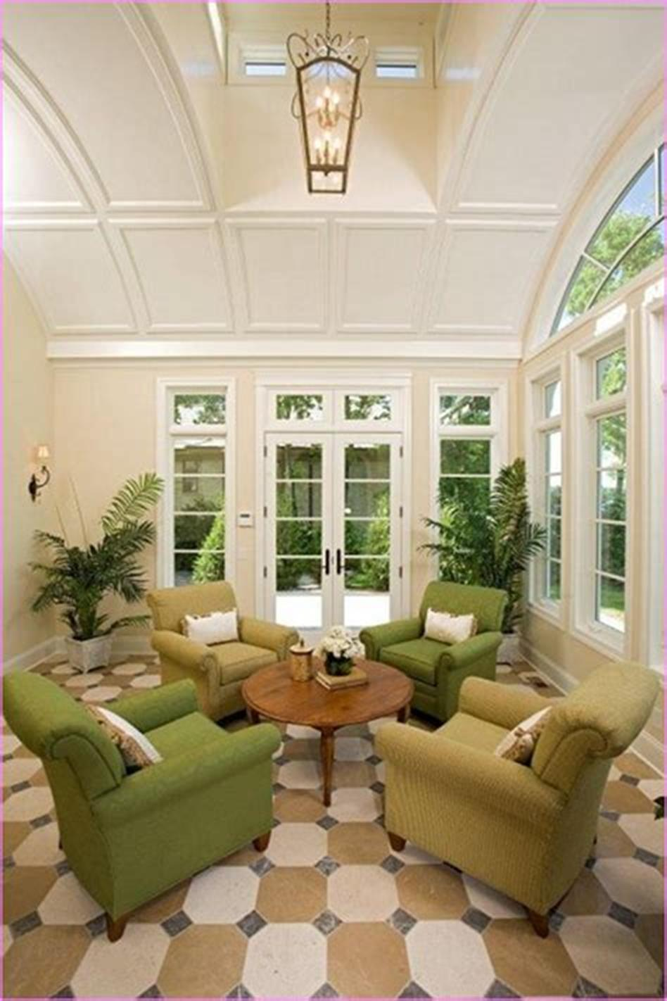 50 Most Popular Affordable Sunroom Design Ideas on a Budget 26