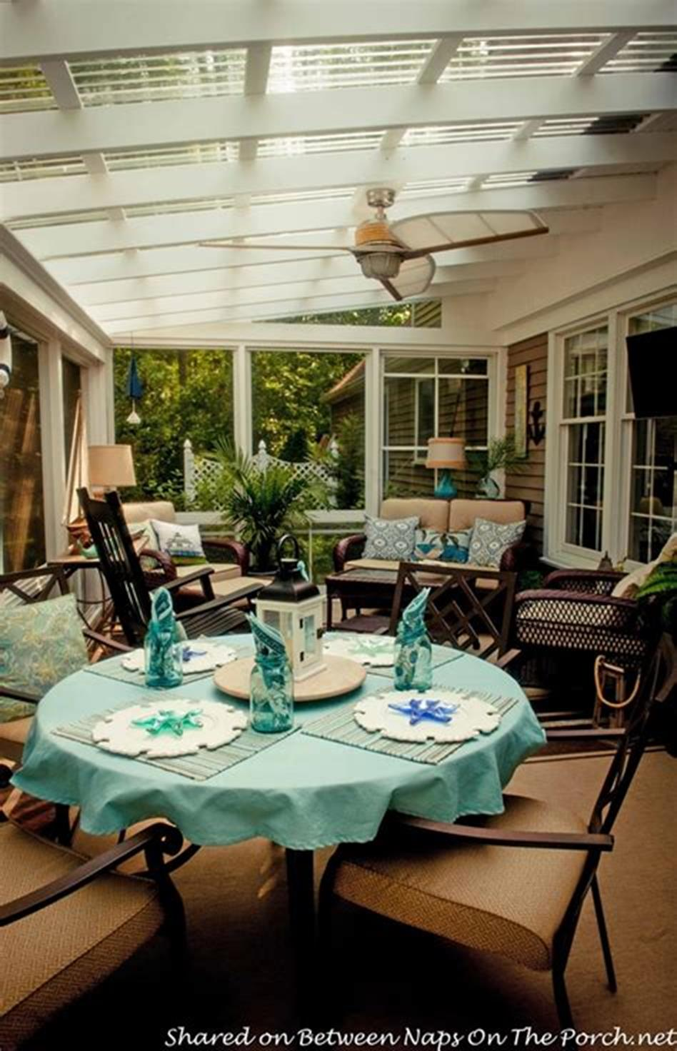 50 Most Popular Affordable Sunroom Design Ideas on a Budget 3