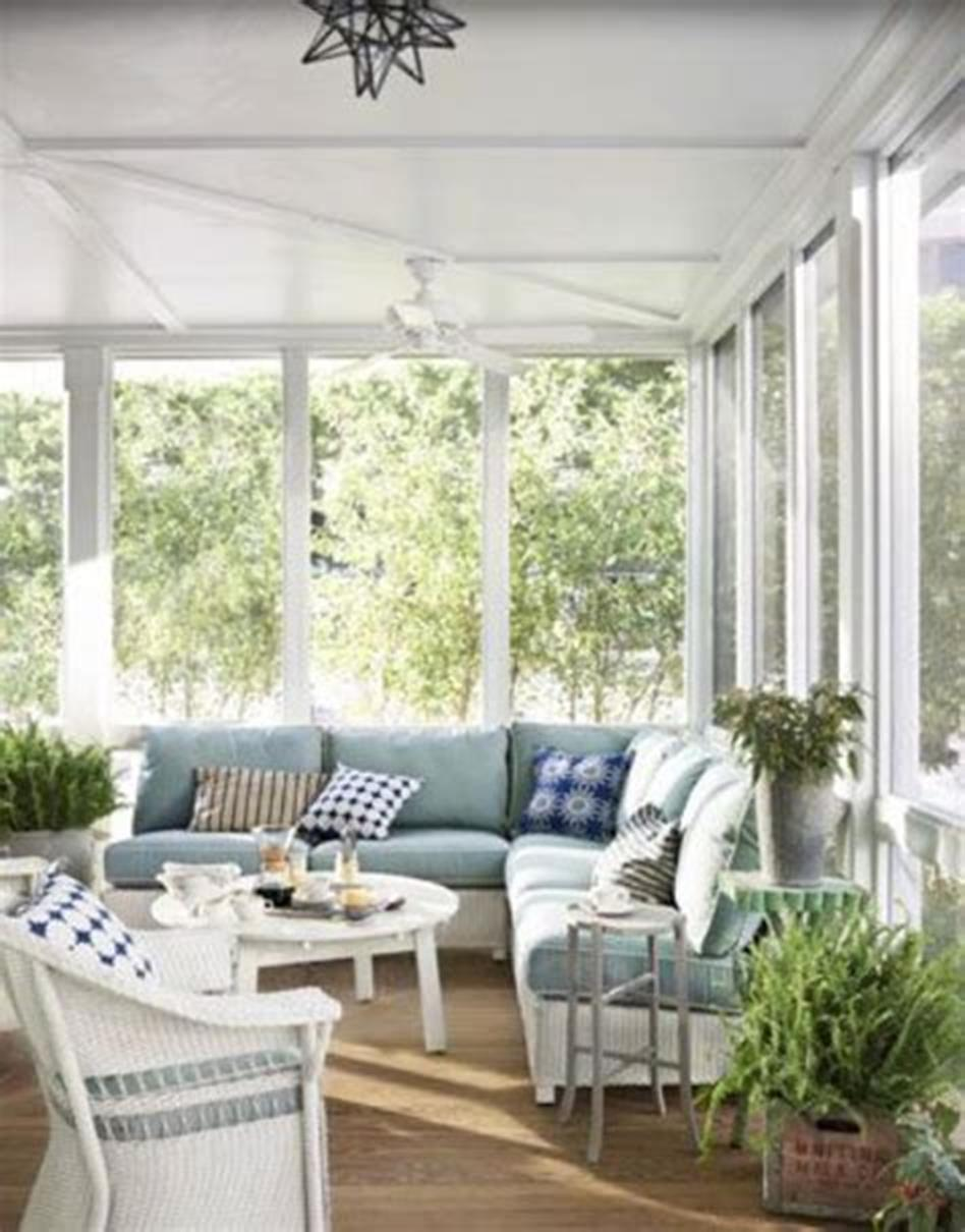 50 Most Popular Affordable Sunroom Design Ideas on a Budget 31