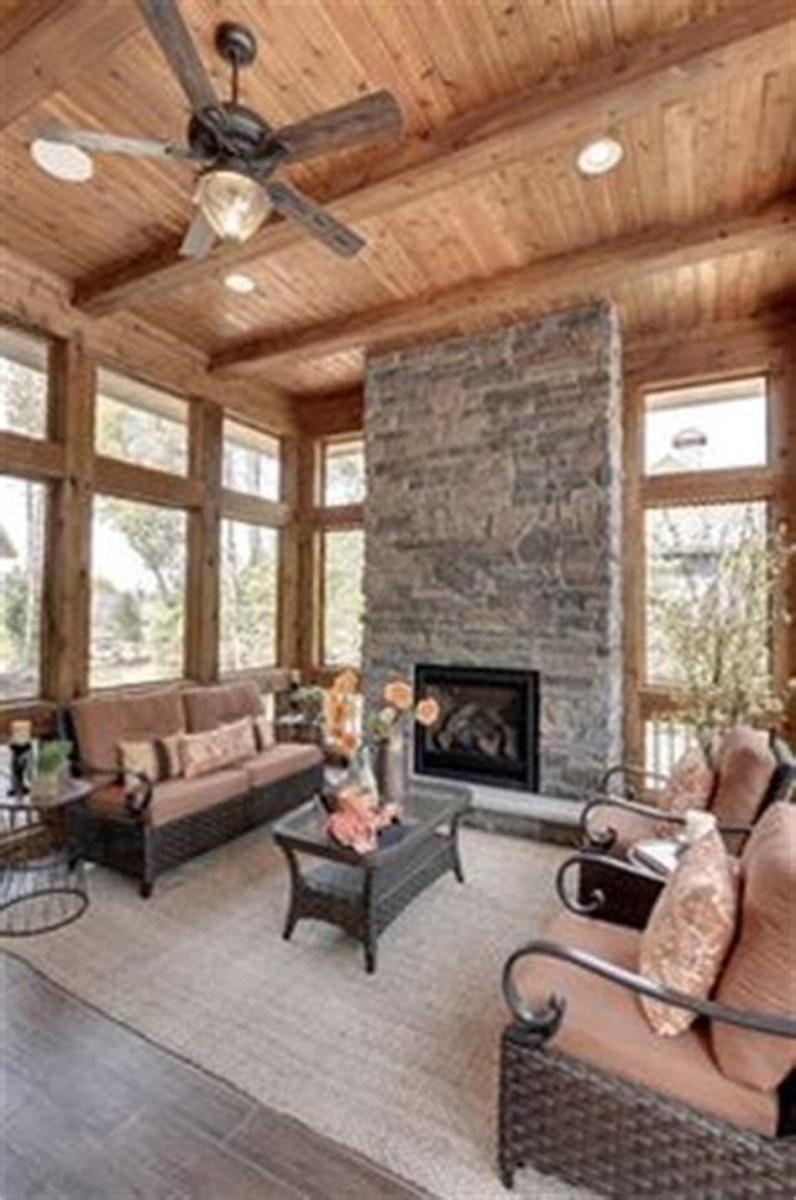 50 Most Popular Affordable Sunroom Design Ideas on a Budget 46