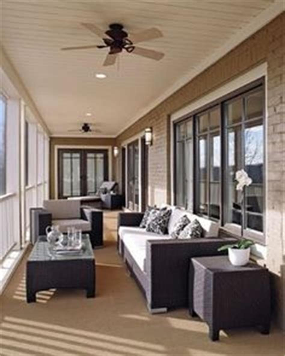 50 Most Popular Affordable Sunroom Design Ideas on a Budget 51