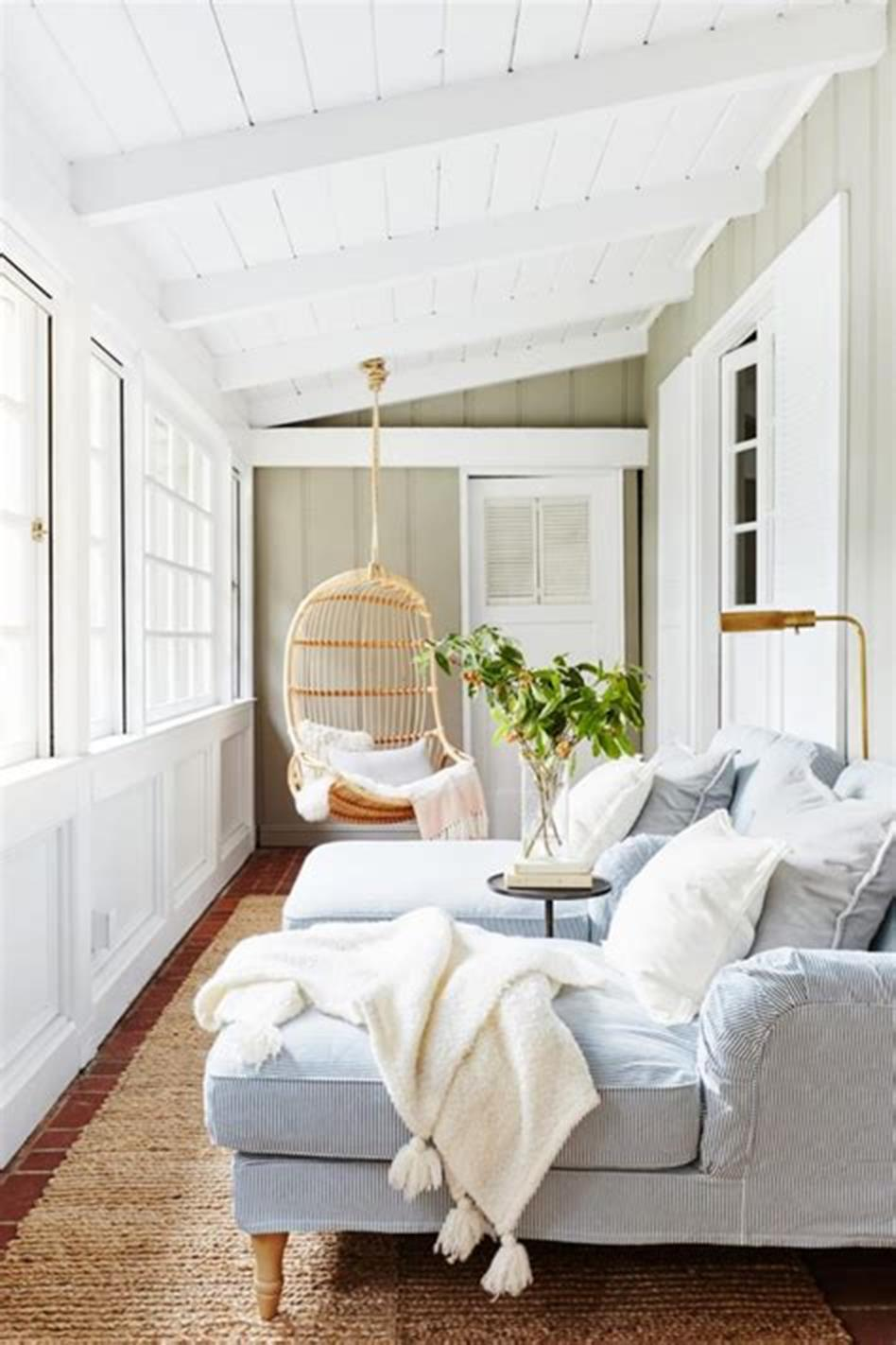 50 Most Popular Affordable Sunroom Design Ideas on a Budget 9