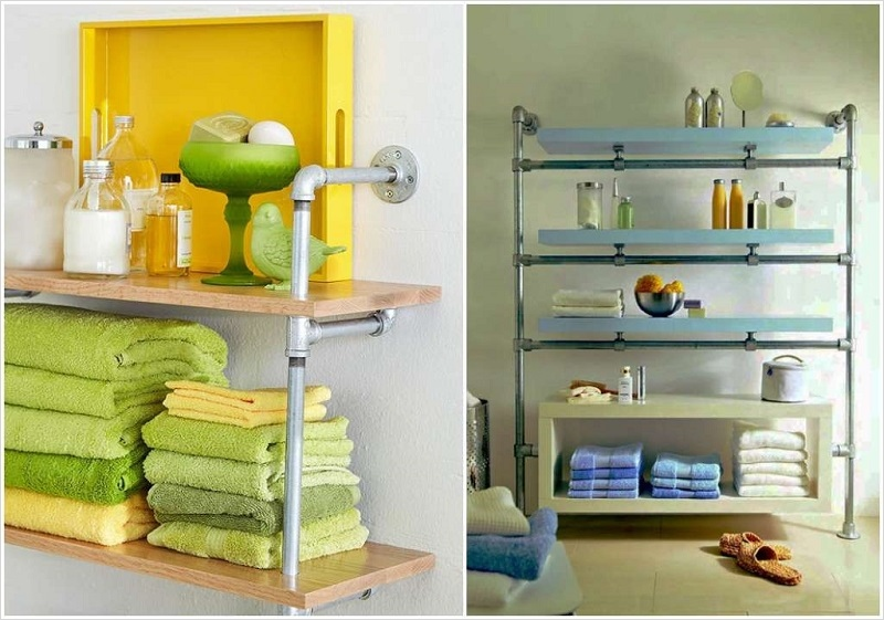 36 Awesome Bathroom Rowel Storage Ideas 81