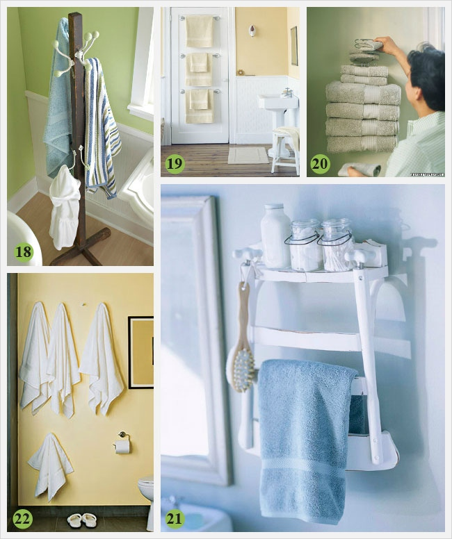 36 Awesome Bathroom Rowel Storage Ideas 63