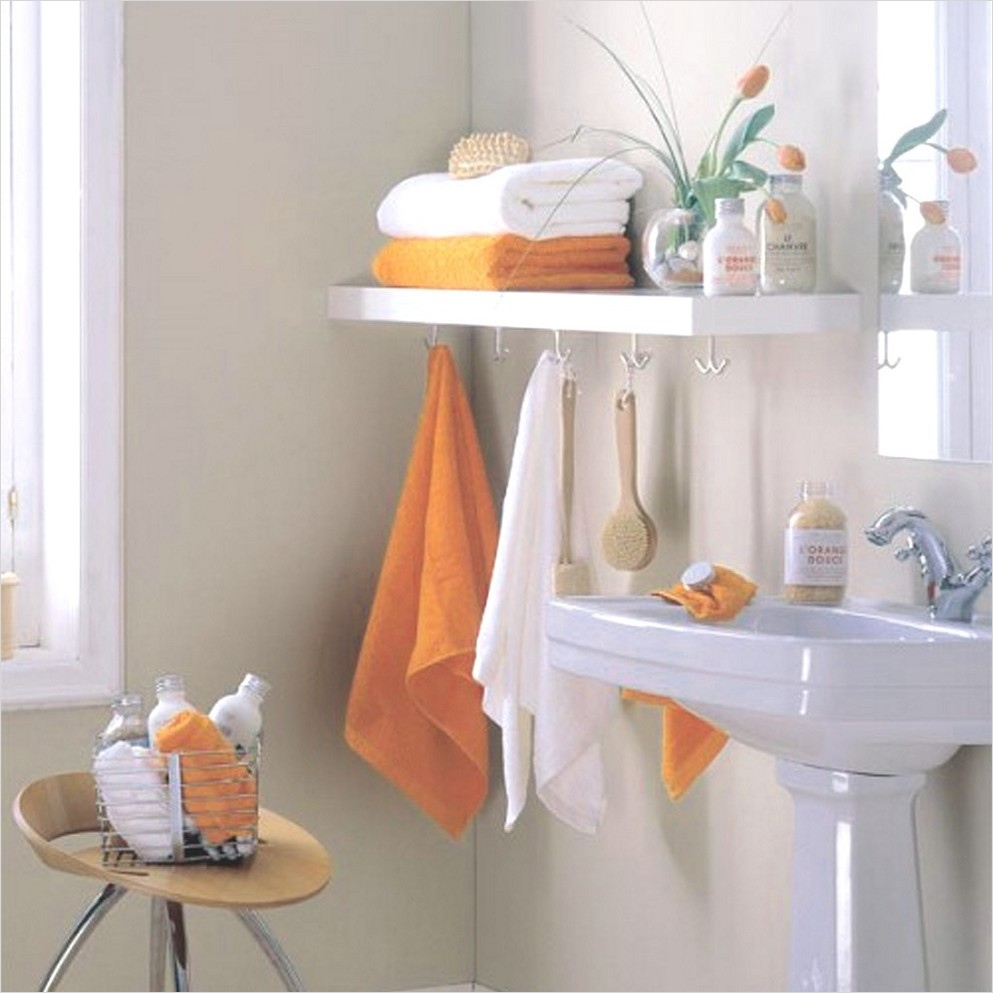 36 Awesome Bathroom Rowel Storage Ideas 21