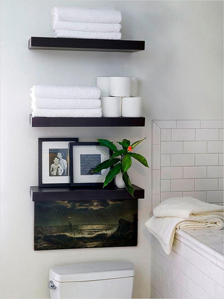 36 Awesome Bathroom Rowel Storage Ideas 27