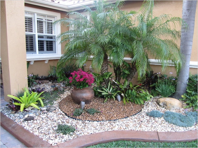 35 Perfect Front Yard Landscaping Ideas with Rocks 55