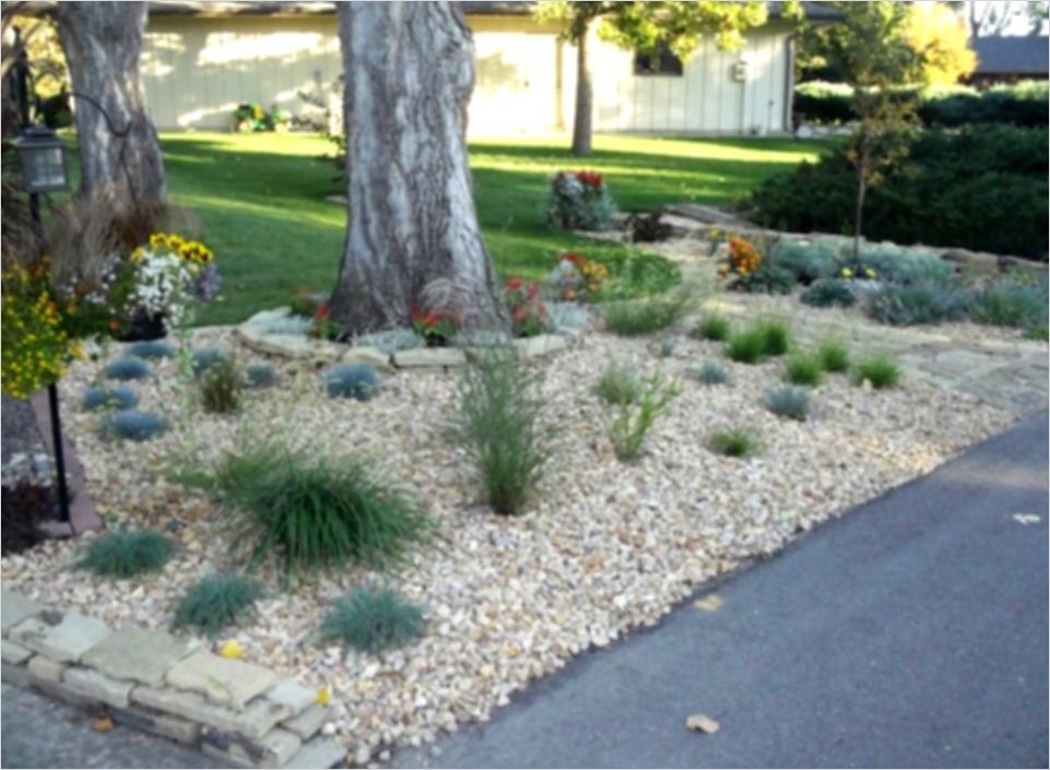 35 Perfect Front Yard Landscaping Ideas with Rocks 64