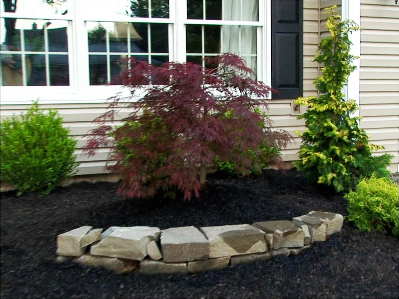 35 Perfect Front Yard Landscaping Ideas with Rocks 41