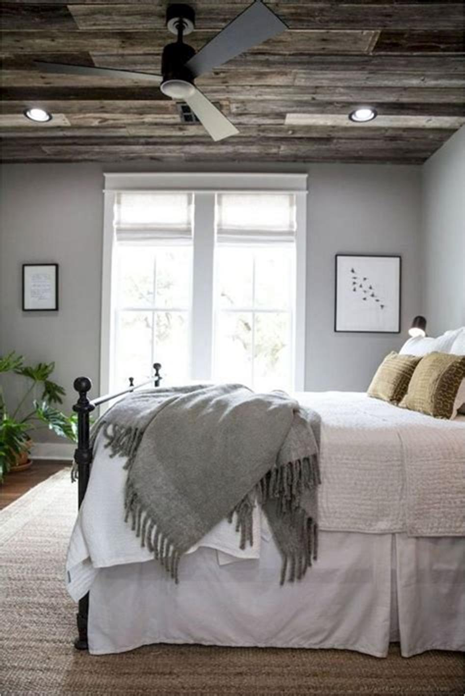 48 Stunning Farmhouse Master Bedroom Design Ideas 2019 20