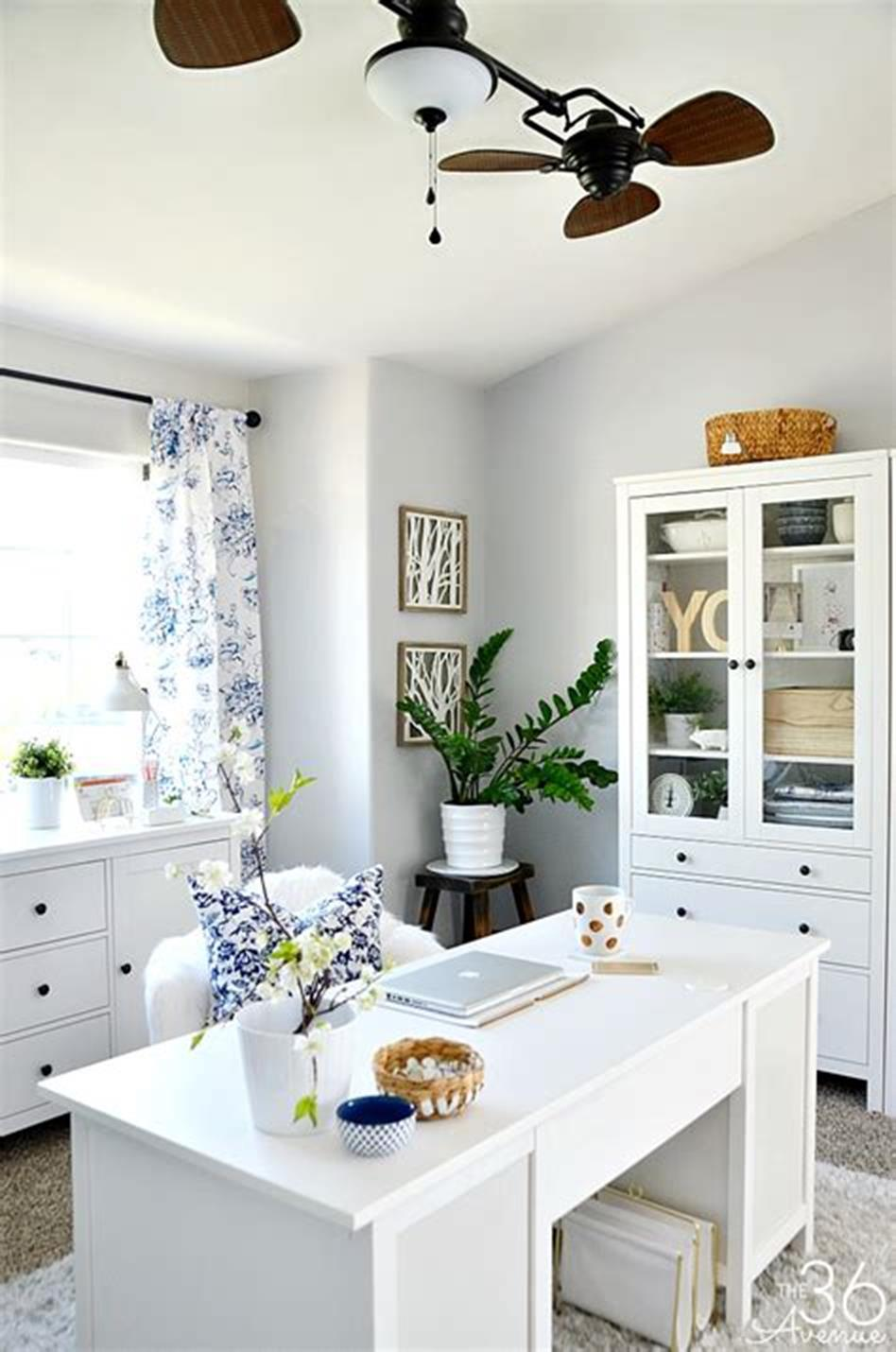 50 Best Small Space Office Decorating Ideas On a Budget 2019 13