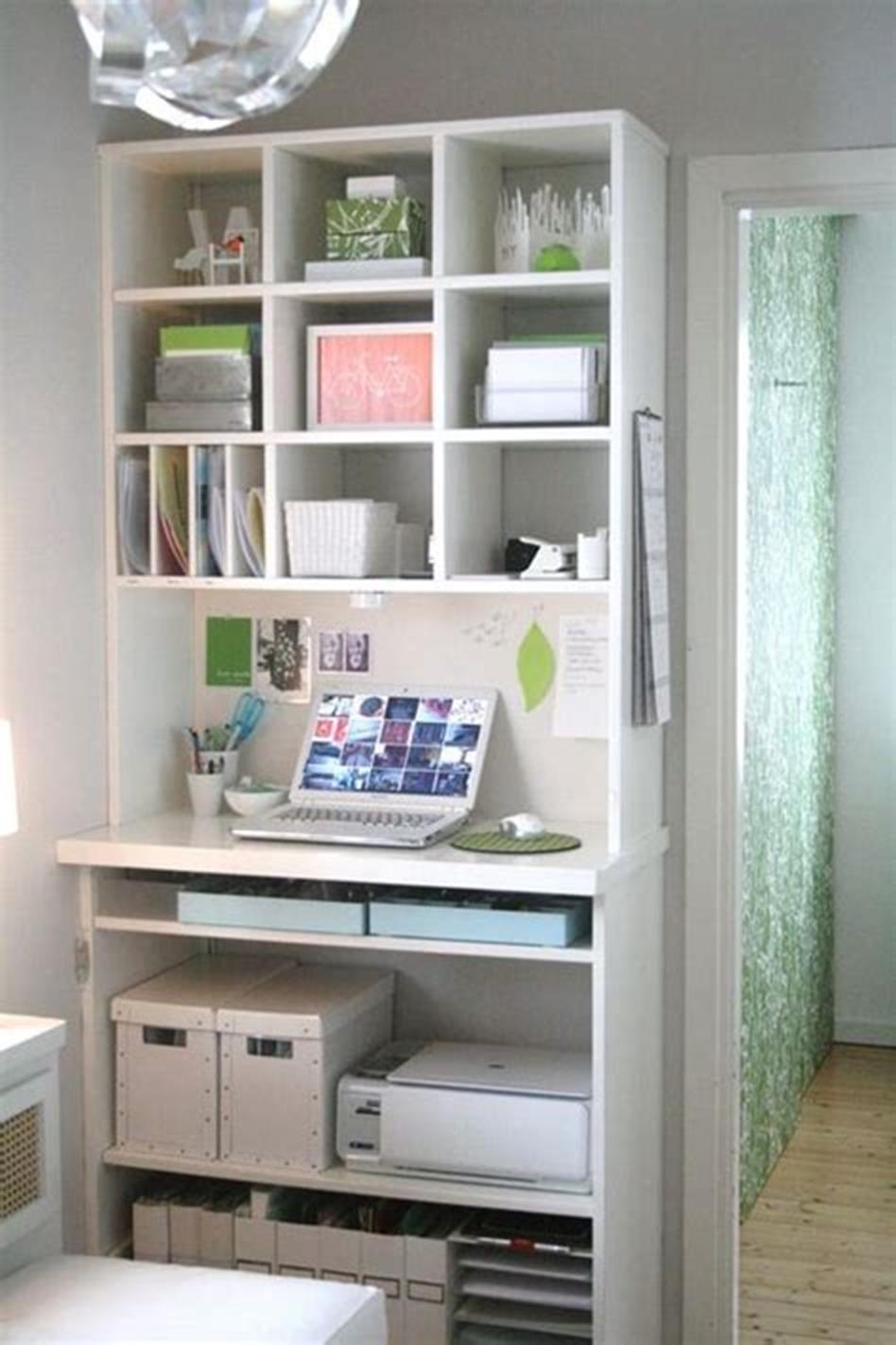 50 Best Small Space Office Decorating Ideas On a Budget 2019 14