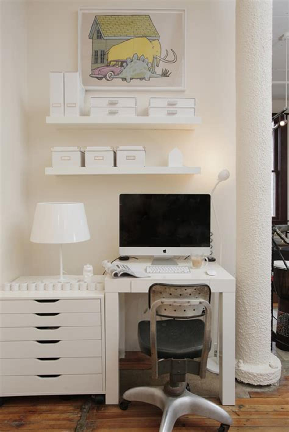 50 Best Small Space Office Decorating Ideas On a Budget 2019 19