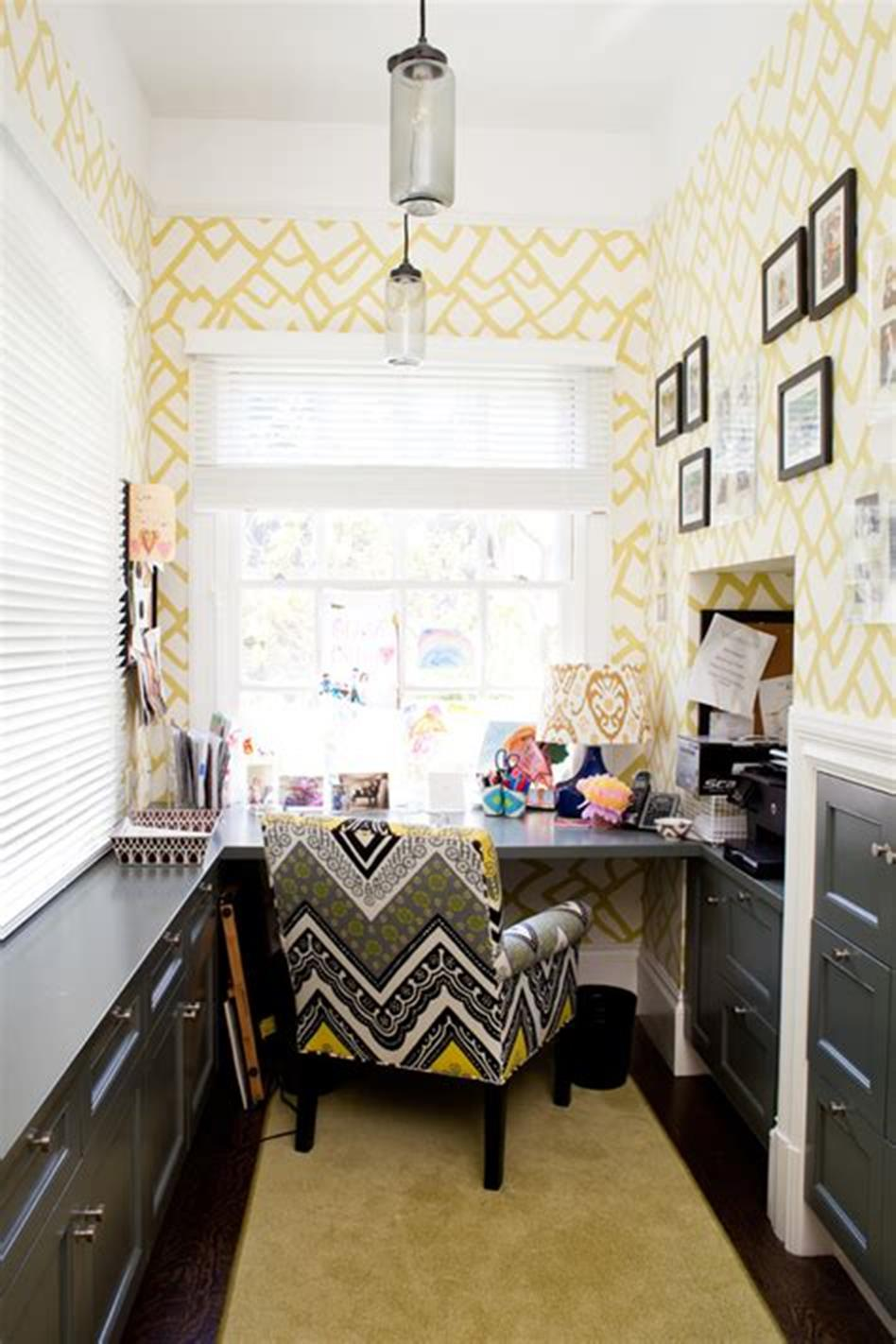 50 Best Small Space Office Decorating Ideas On a Budget 2019 20