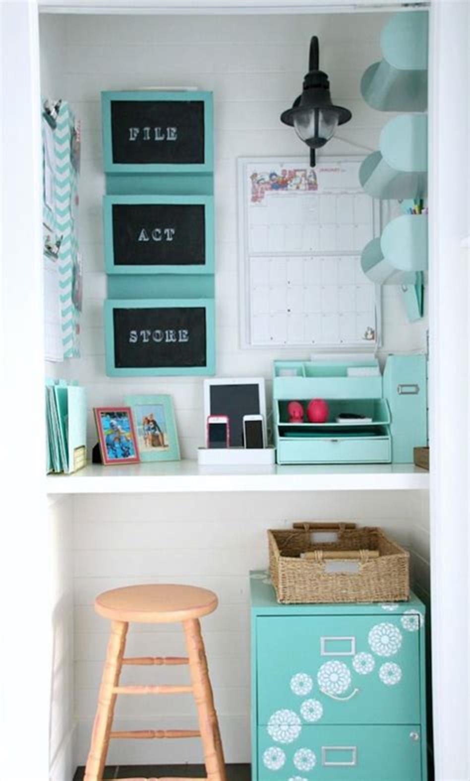 50 Best Small Space Office Decorating Ideas On a Budget 2019 25
