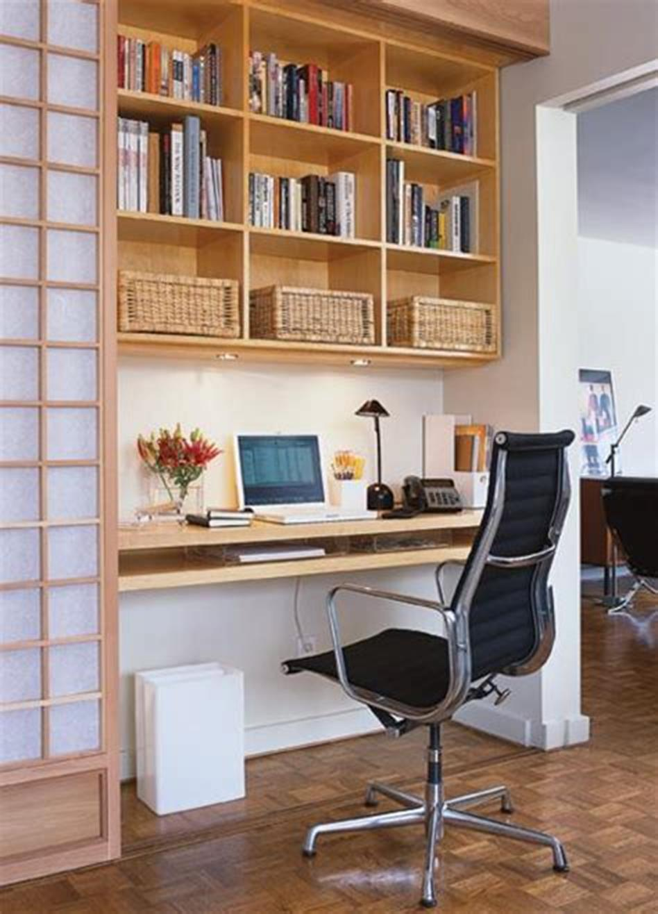 50 Best Small Space Office Decorating Ideas On a Budget 2019 27