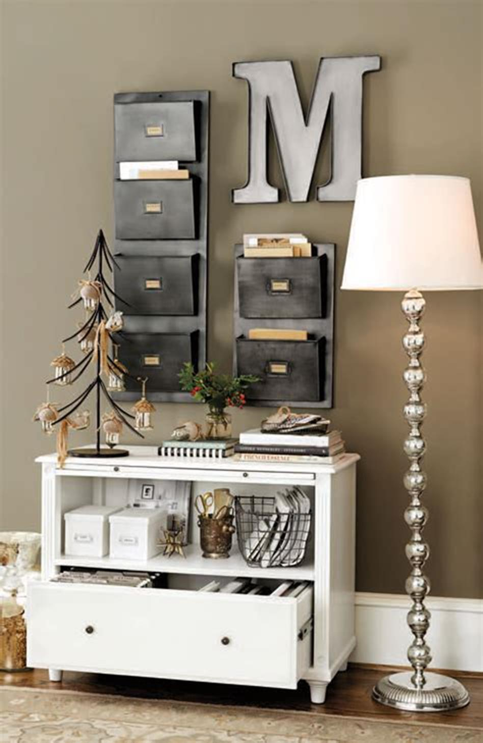 50 Best Small Space Office Decorating Ideas On A Budget 2019 32