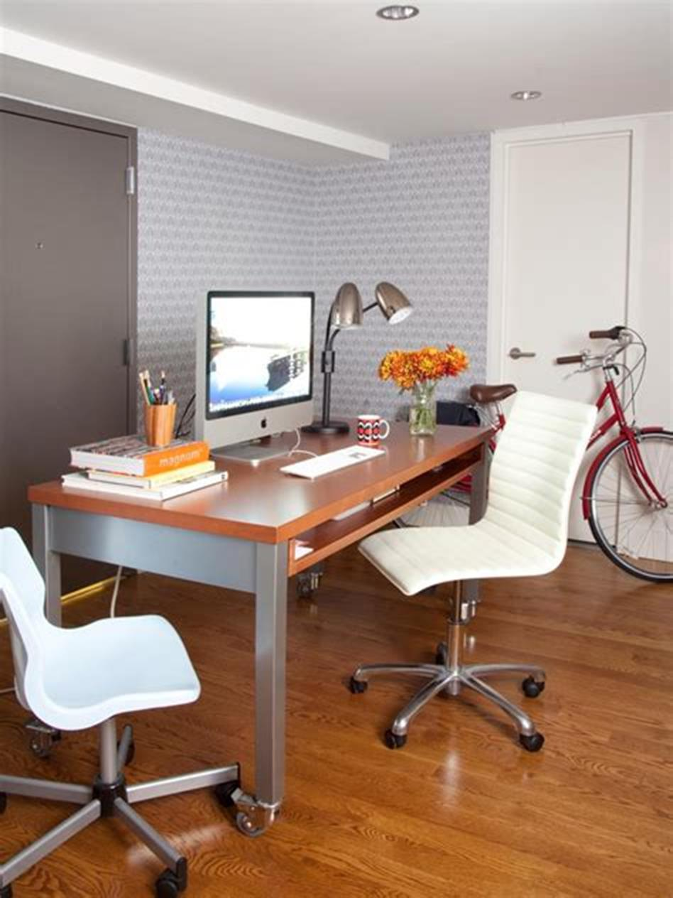 50 Best Small Space Office Decorating Ideas On a Budget 2019 39