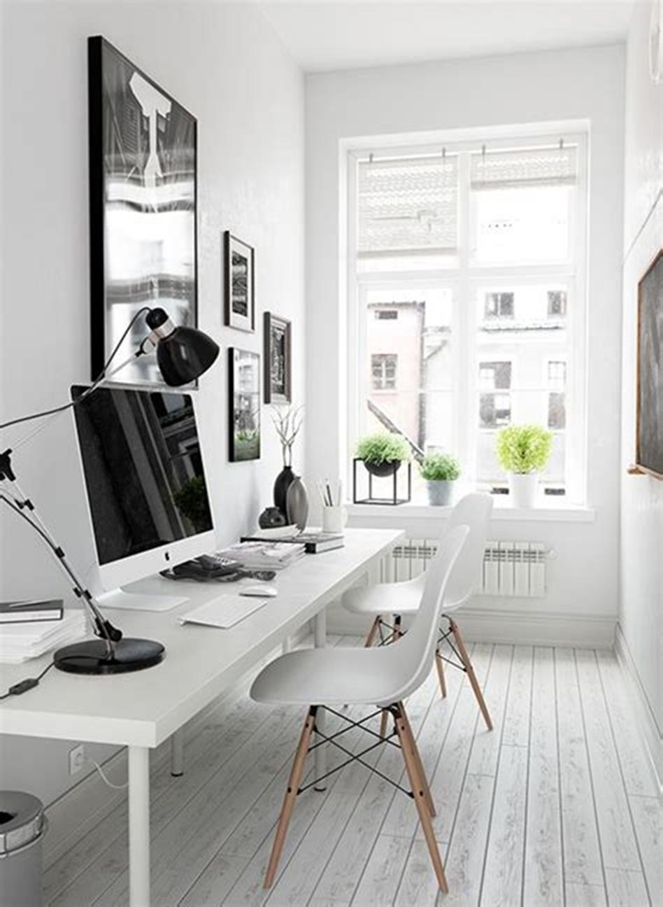 50 Best Small Space Office Decorating Ideas On a Budget 2019 4